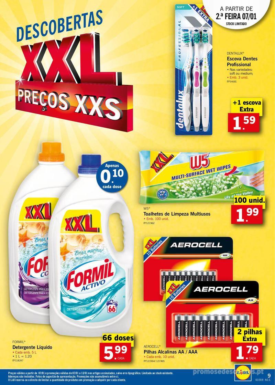 Folheto Lidl XXL a preços XXS - 7 de Janeiro a 13 de Janeiro - página 9