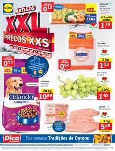 Artigos XXL a preços xxs - 20 de Outubro a 26 de Outubro