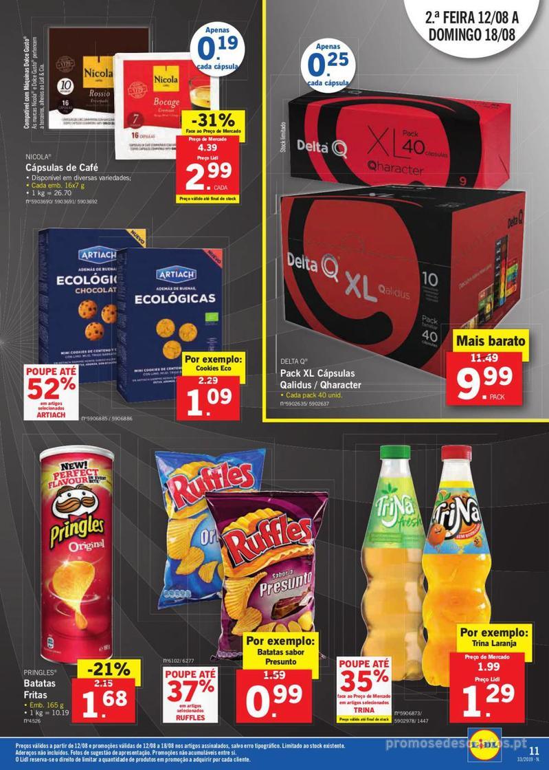 Folheto Lidl Bio Organic - 12 de Agosto a 18 de Agosto - página 11