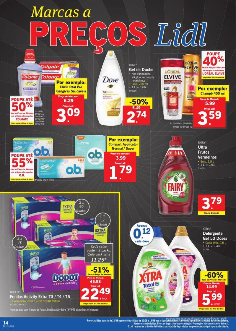 Folheto Lidl Bio Organic - 12 de Agosto a 18 de Agosto - página 14