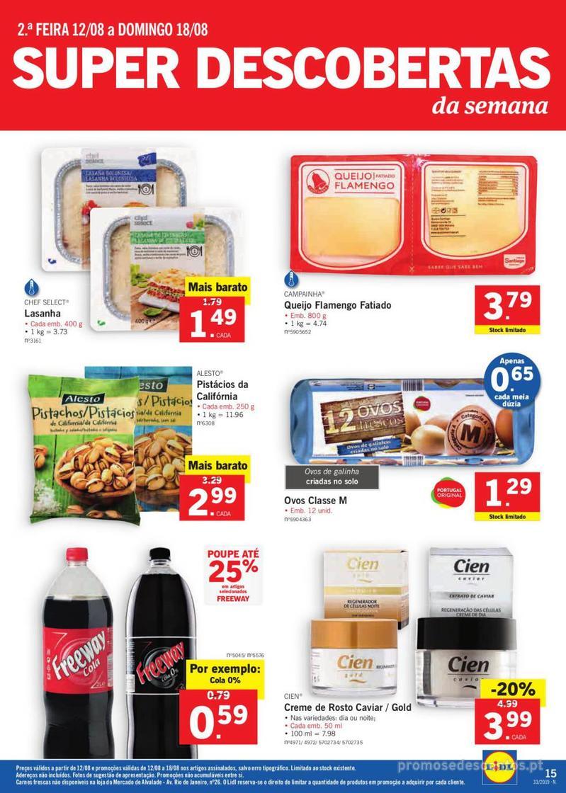 Folheto Lidl Bio Organic - 12 de Agosto a 18 de Agosto - página 15