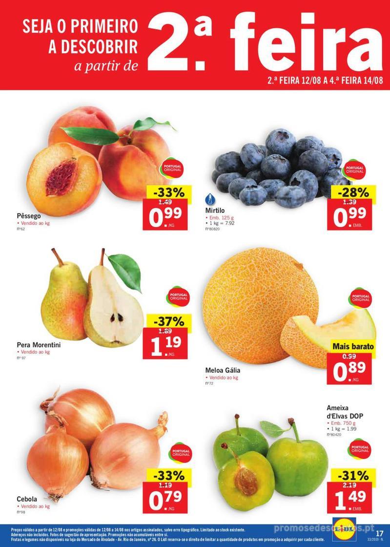 Folheto Lidl Bio Organic - 12 de Agosto a 18 de Agosto - página 17