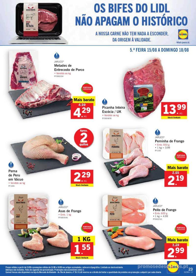 Folheto Lidl Bio Organic - 12 de Agosto a 18 de Agosto - página 23