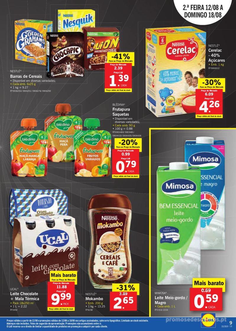 Folheto Lidl Bio Organic - 12 de Agosto a 18 de Agosto - página 9