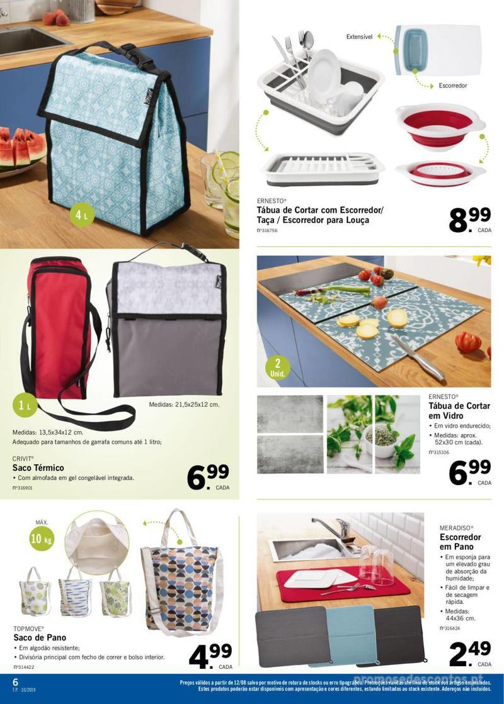 Folheto Lidl Mais para si! - 12 de Agosto a 18 de Agosto - página 6
