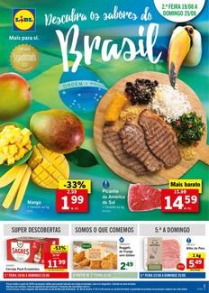 Descubra os sabores do Brasil - 19 de Agosto a 25 de Agosto
