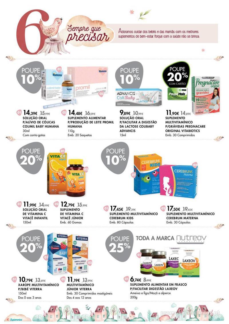 Folheto Pingo Doce Consigo desde o primeiro dia - Lojas BemEstar - 8 de Janeiro a 4 de Fevereiro - página 10
