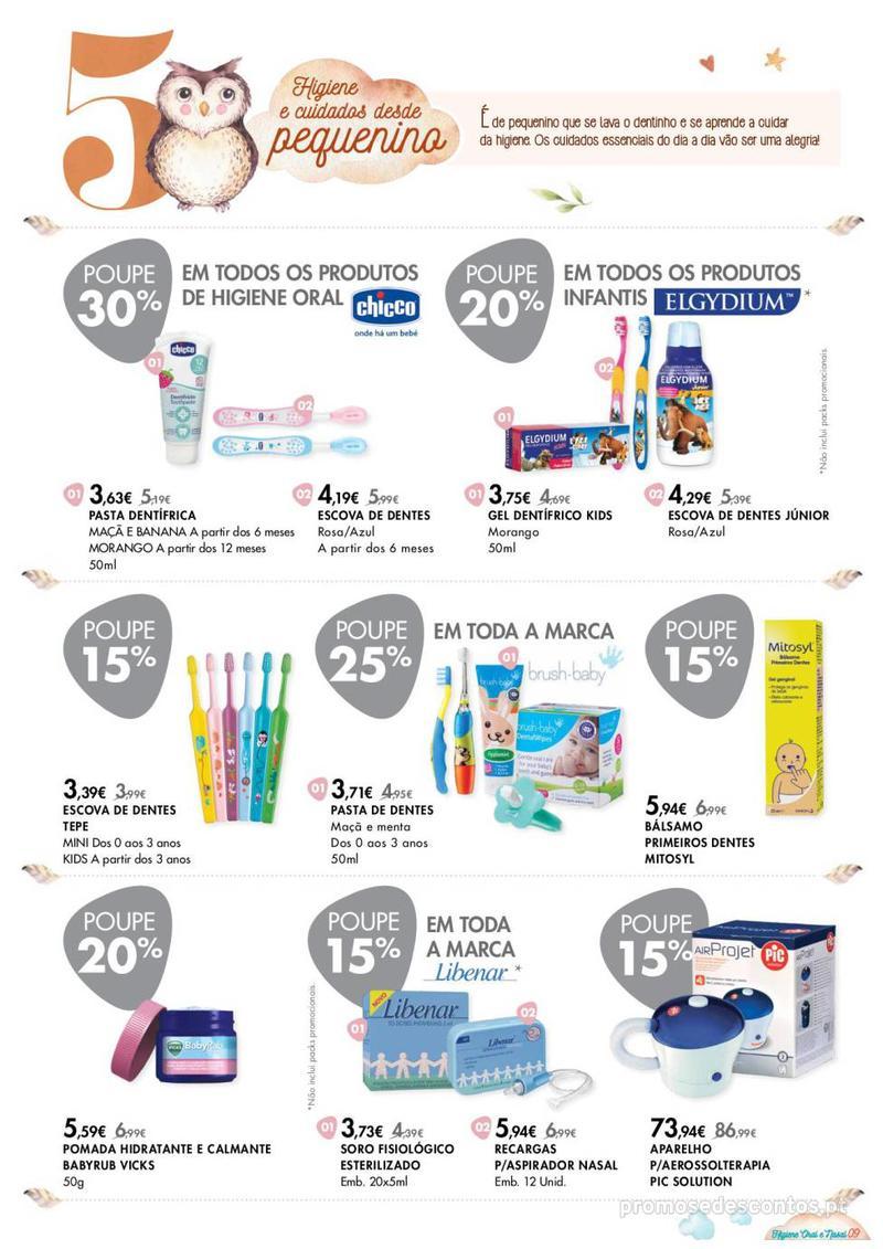 Folheto Pingo Doce Consigo desde o primeiro dia - Lojas BemEstar - 8 de Janeiro a 4 de Fevereiro - página 9