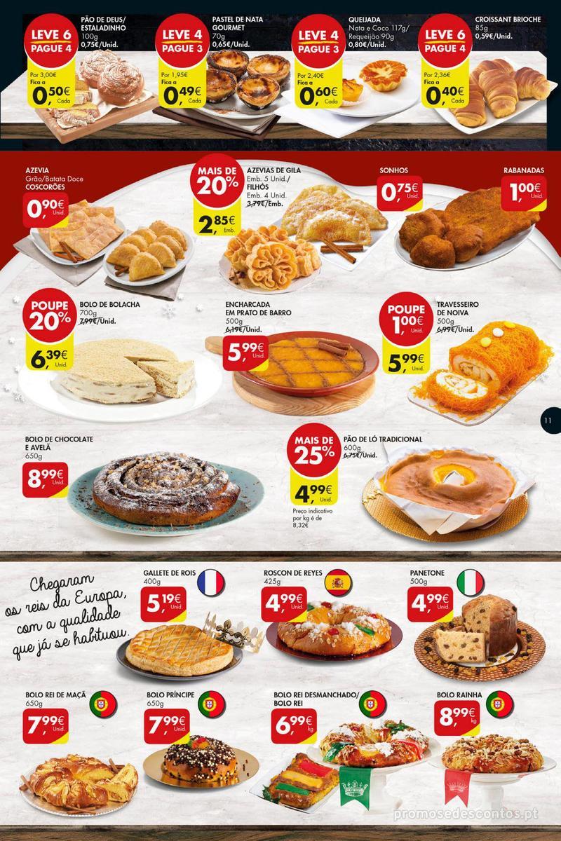 Folheto Pingo Doce Poupe esta semana - Super - 4 de Dezembro a 10 de Dezembro - página 11