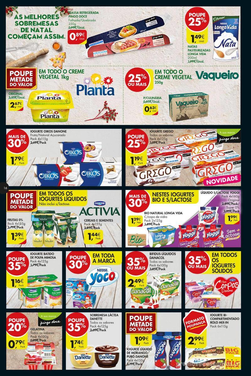 Folheto Pingo Doce Poupe esta semana - Super - 4 de Dezembro a 10 de Dezembro - página 16