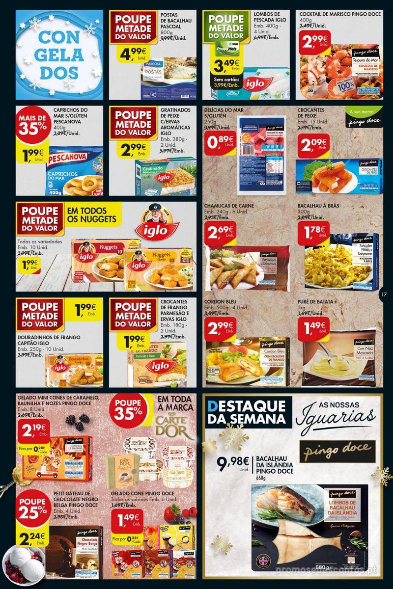 Folheto Pingo Doce Poupe esta semana - Super - 4 de Dezembro a 10 de Dezembro - página 17