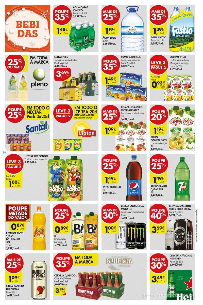 Folheto Pingo Doce Poupe esta semana - Super - 4 de Dezembro a 10 de Dezembro - página 18