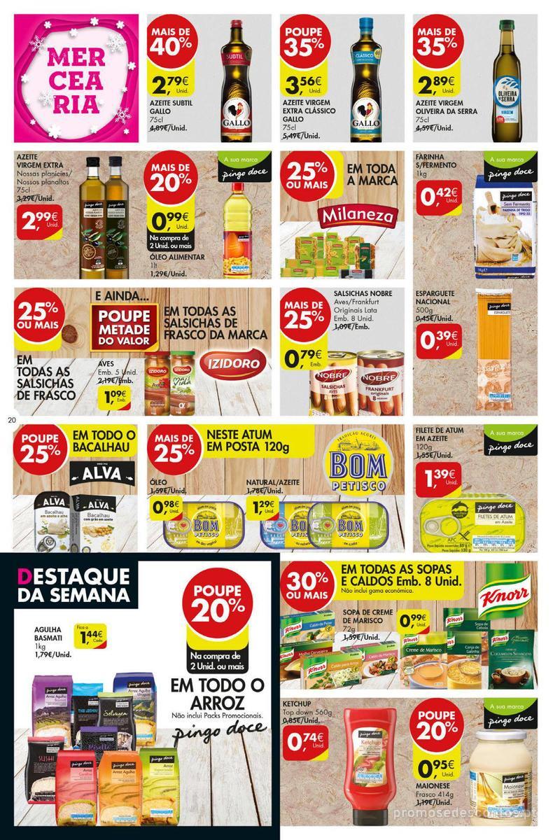 Folheto Pingo Doce Poupe esta semana - Super - 4 de Dezembro a 10 de Dezembro - página 20