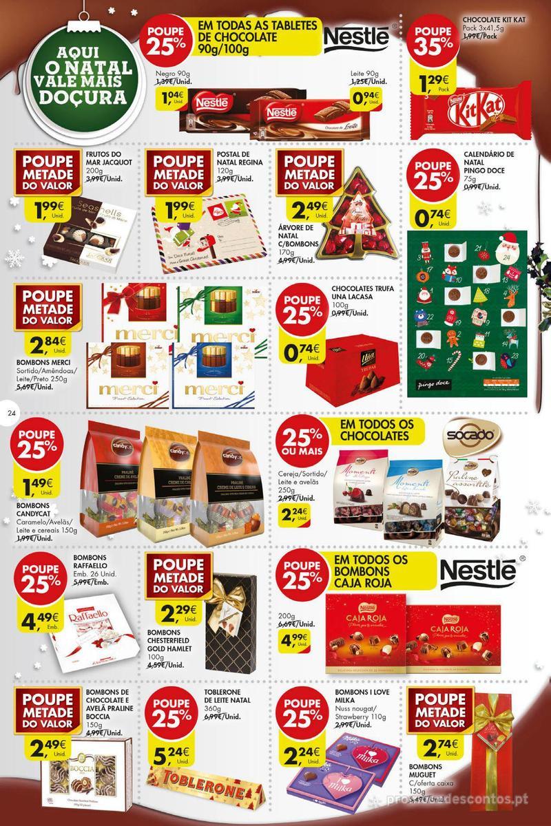 Folheto Pingo Doce Poupe esta semana - Super - 4 de Dezembro a 10 de Dezembro - página 24