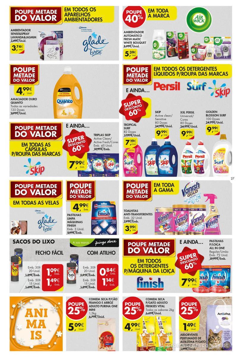 Folheto Pingo Doce Poupe esta semana - Super - 4 de Dezembro a 10 de Dezembro - página 27
