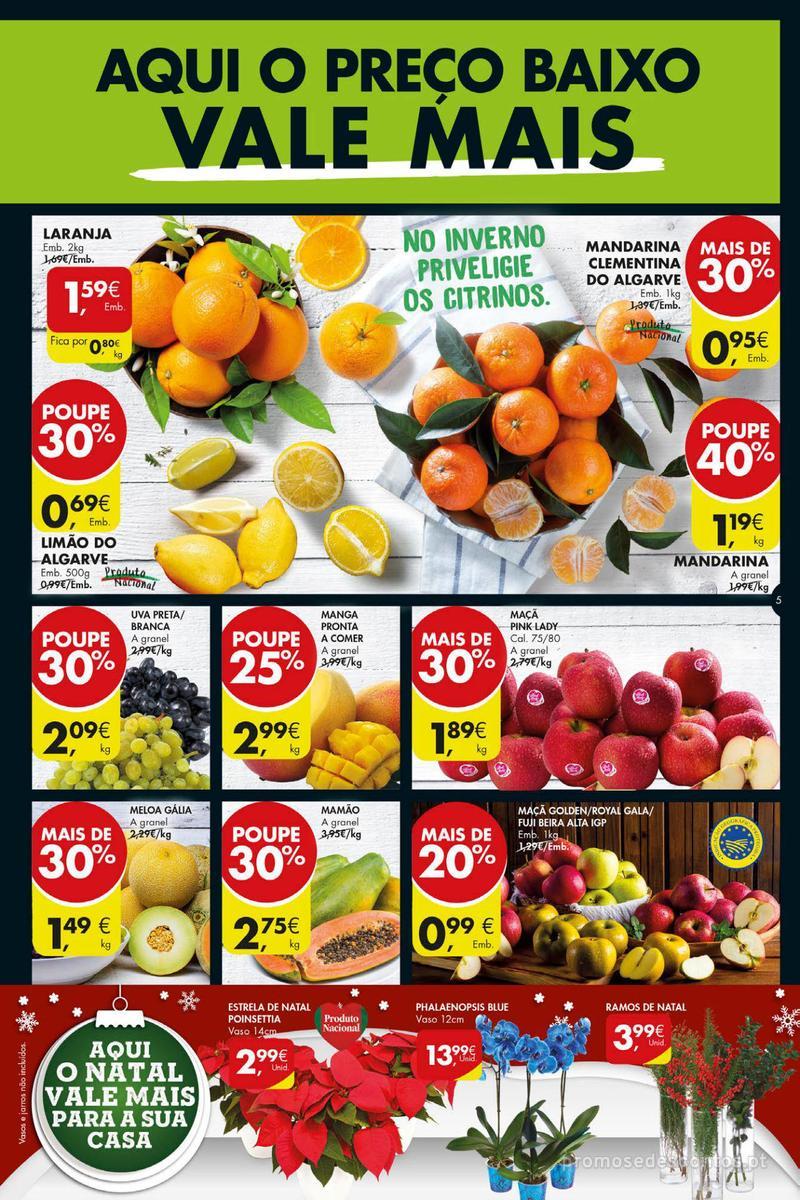 Folheto Pingo Doce Poupe esta semana - Super - 4 de Dezembro a 10 de Dezembro - página 5