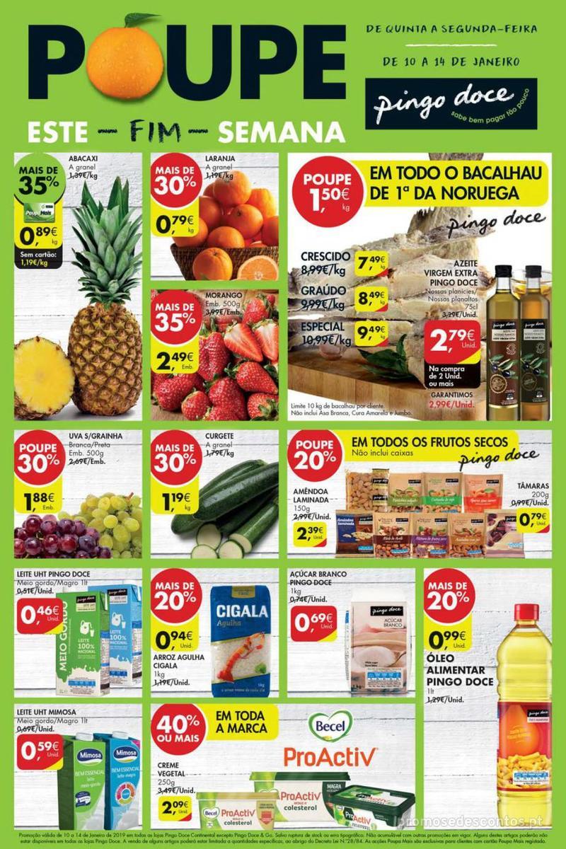 Folheto Pingo Doce Poupe este Fim de semana - 10 de Janeiro a 13 de Janeiro - página 4