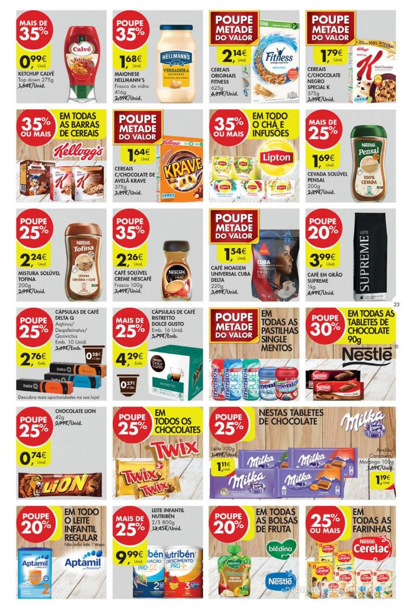Folheto Pingo Doce Poupe esta semana - Lojas Super - 14 de Maio a 20 de Maio - página 23