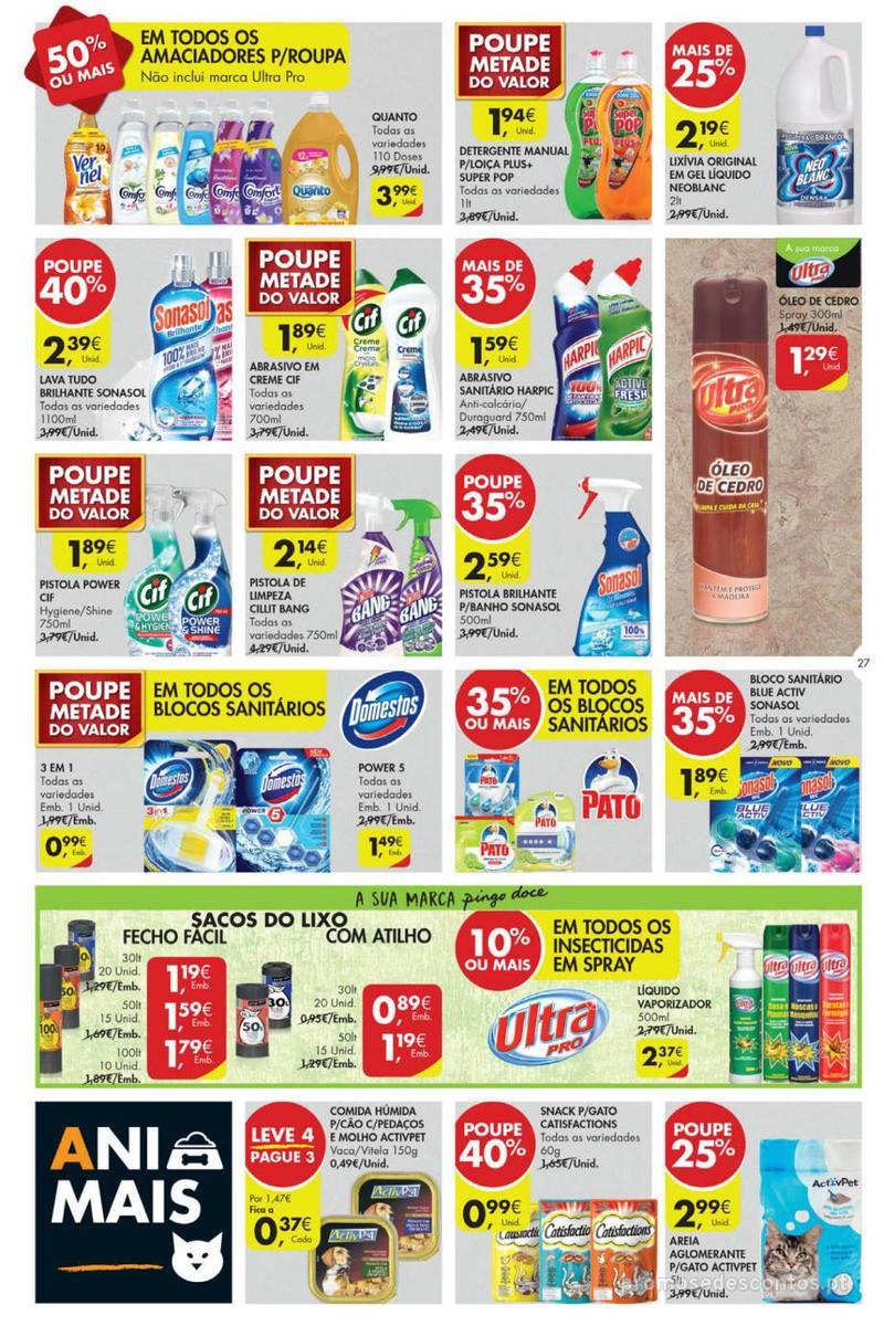 Folheto Pingo Doce Poupe esta semana - Lojas Super - 14 de Maio a 20 de Maio - página 27