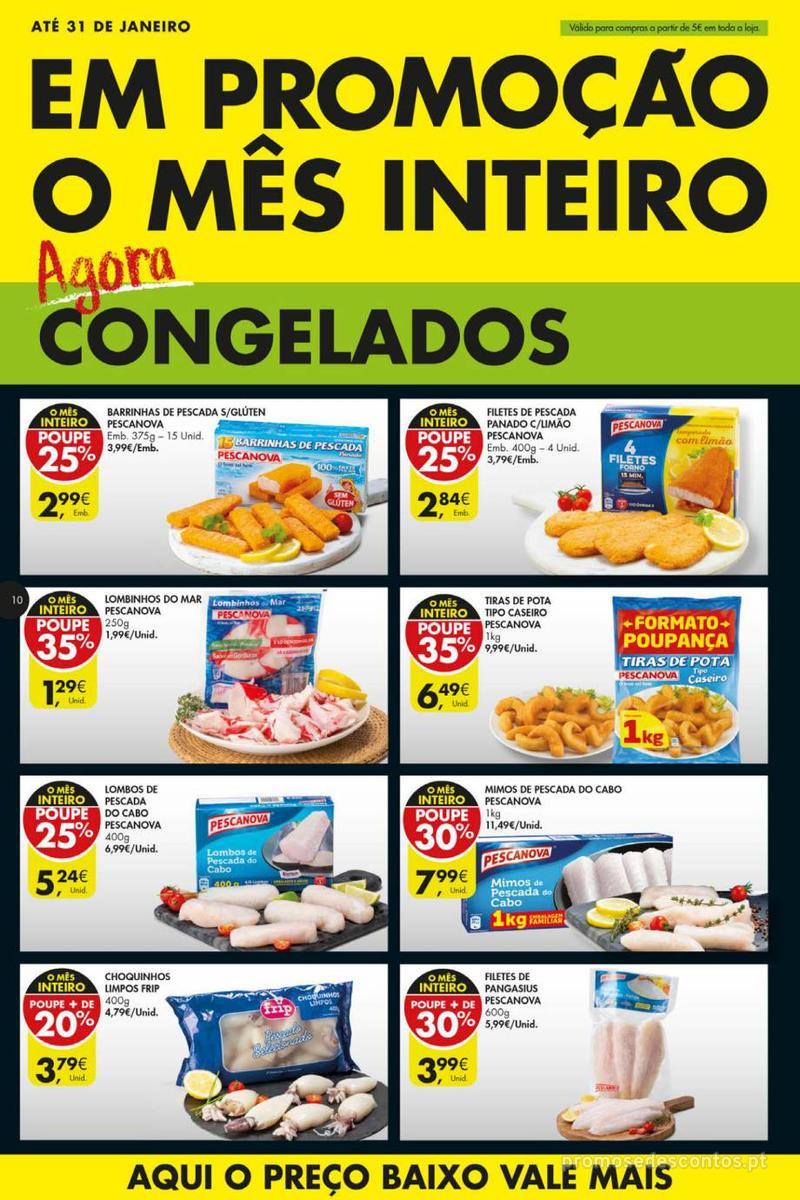 Folheto Pingo Doce Poupe esta semana - Mega/Hiper - 8 de Janeiro a 14 de Janeiro - página 10