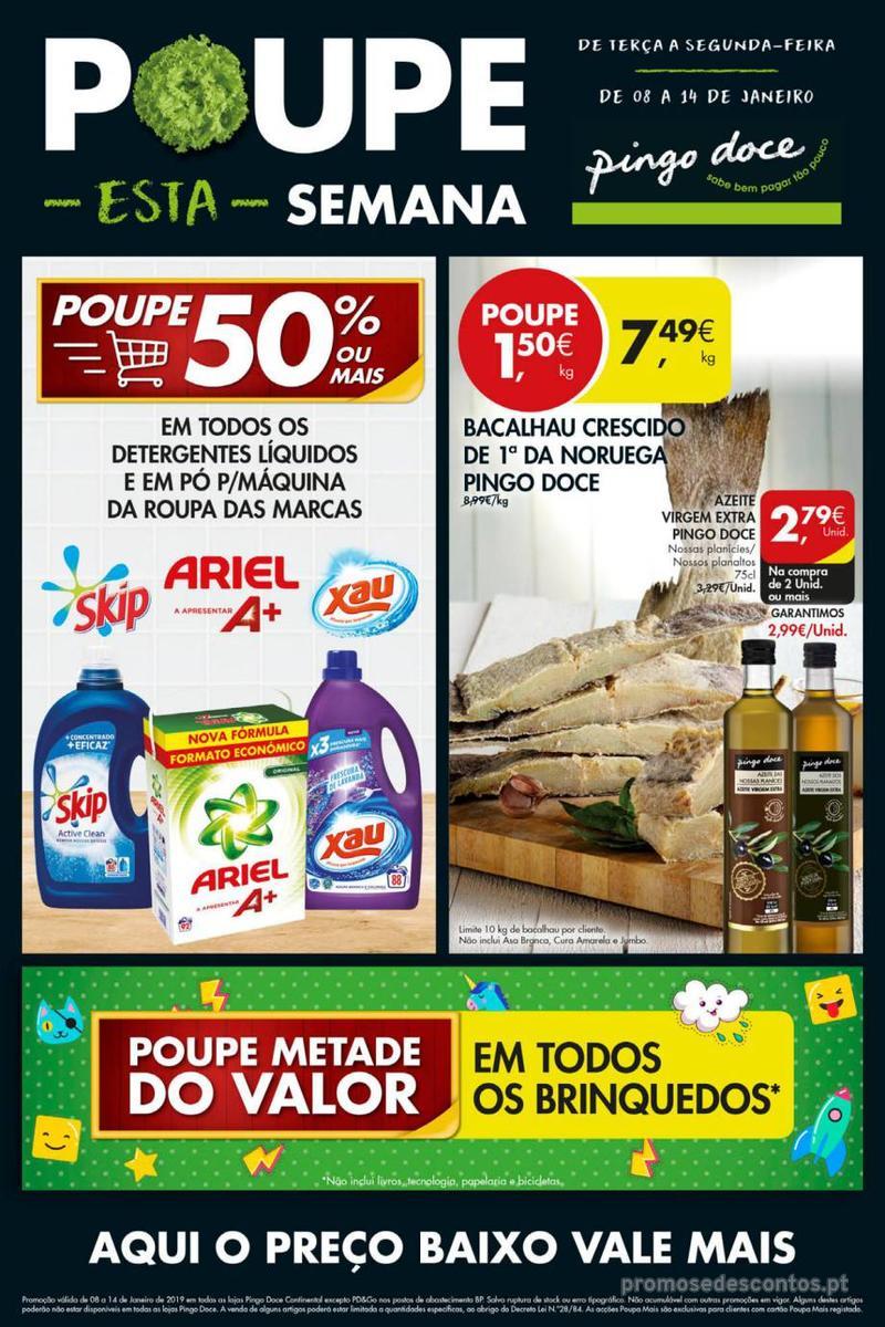 Folheto Pingo Doce Poupe esta semana - Mega/Hiper - 8 de Janeiro a 14 de Janeiro - página 13
