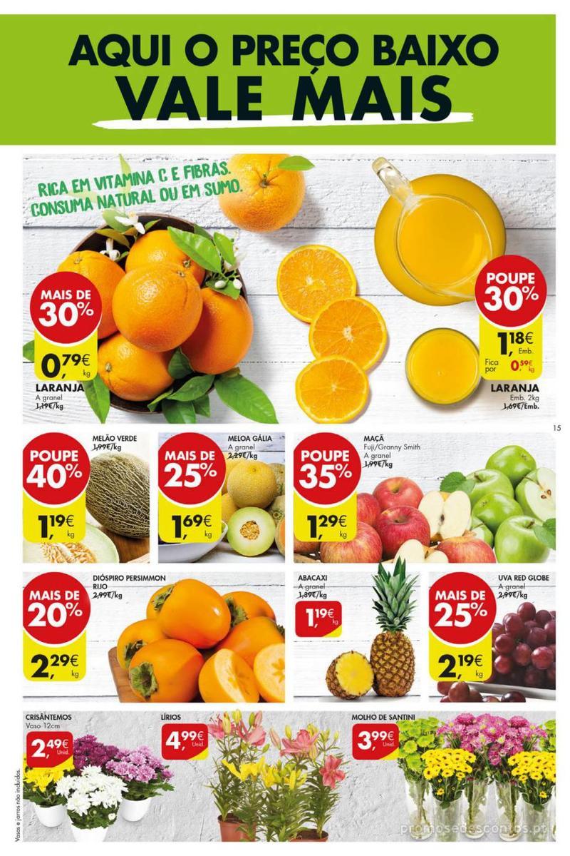 Folheto Pingo Doce Poupe esta semana - Mega/Hiper - 8 de Janeiro a 14 de Janeiro - página 15