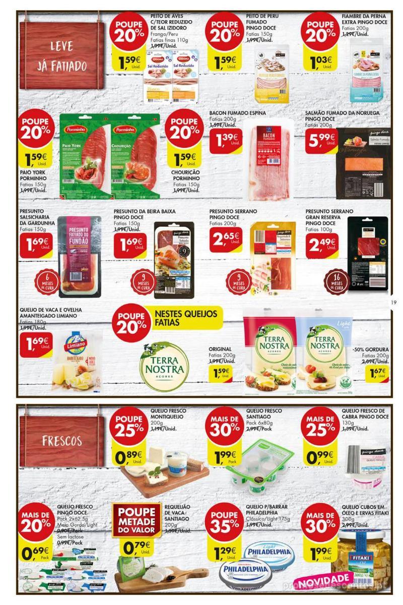 Folheto Pingo Doce Poupe esta semana - Mega/Hiper - 8 de Janeiro a 14 de Janeiro - página 19