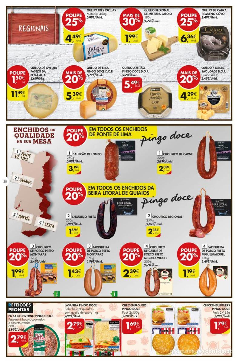 Folheto Pingo Doce Poupe esta semana - Mega/Hiper - 8 de Janeiro a 14 de Janeiro - página 20