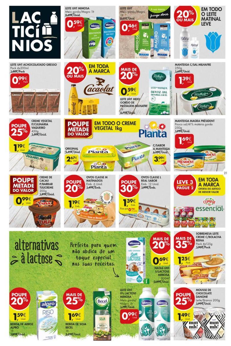 Folheto Pingo Doce Poupe esta semana - Mega/Hiper - 8 de Janeiro a 14 de Janeiro - página 21