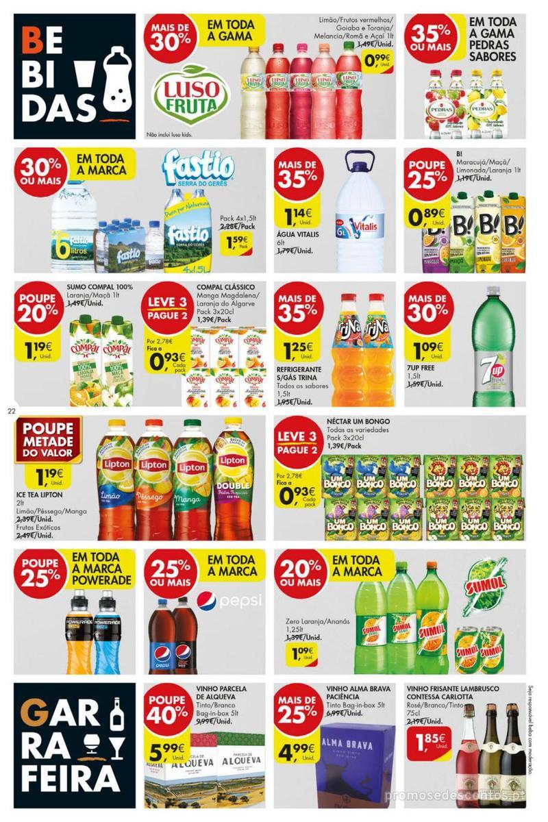 Folheto Pingo Doce Poupe esta semana - Mega/Hiper - 8 de Janeiro a 14 de Janeiro - página 22