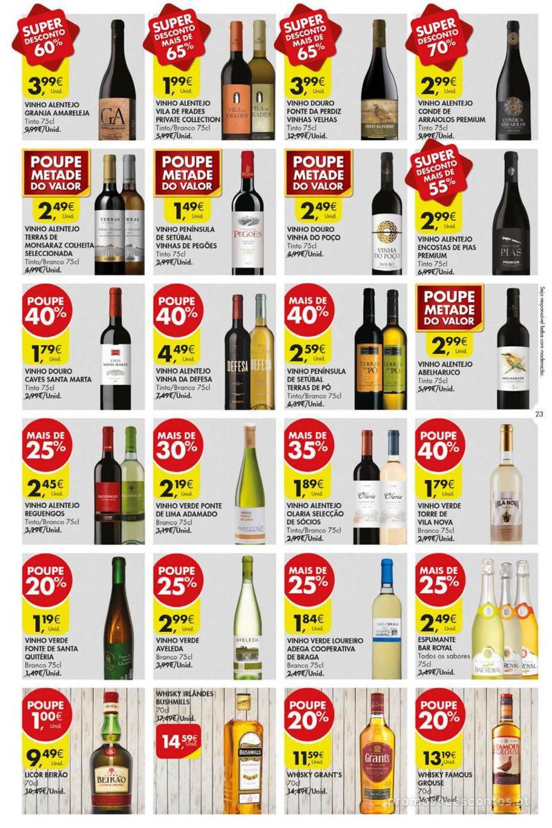 Folheto Pingo Doce Poupe esta semana - Mega/Hiper - 8 de Janeiro a 14 de Janeiro - página 23