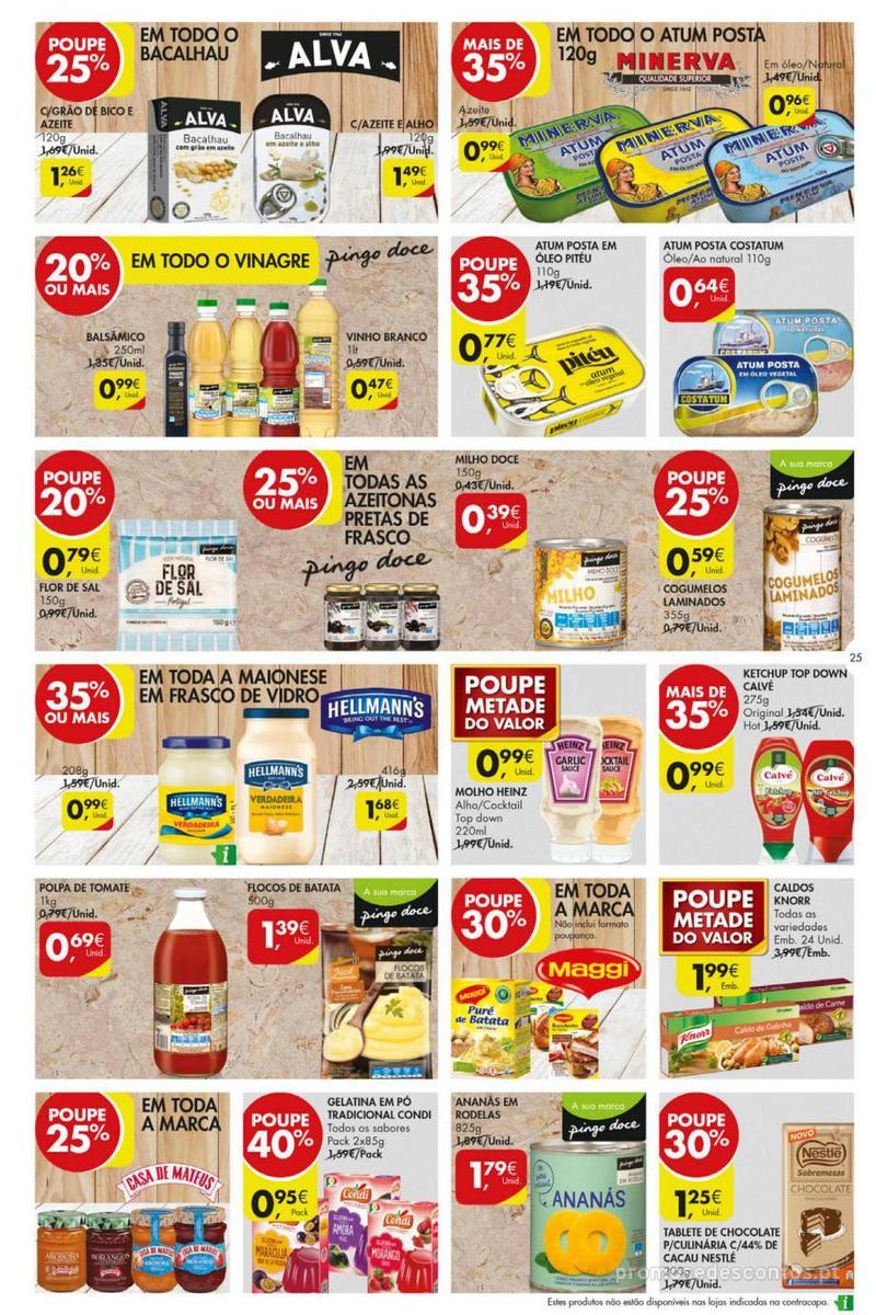 Folheto Pingo Doce Poupe esta semana - Mega/Hiper - 8 de Janeiro a 14 de Janeiro - página 25
