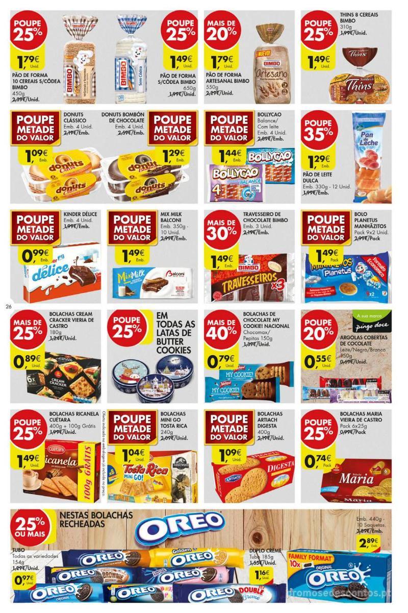 Folheto Pingo Doce Poupe esta semana - Mega/Hiper - 8 de Janeiro a 14 de Janeiro - página 26