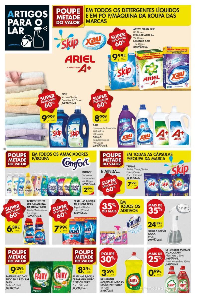 Folheto Pingo Doce Poupe esta semana - Mega/Hiper - 8 de Janeiro a 14 de Janeiro - página 30