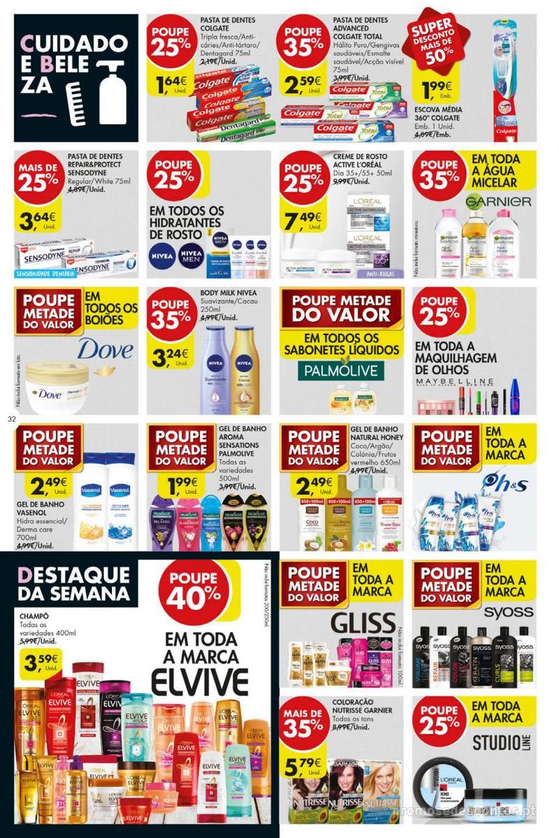 Folheto Pingo Doce Poupe esta semana - Mega/Hiper - 8 de Janeiro a 14 de Janeiro - página 32