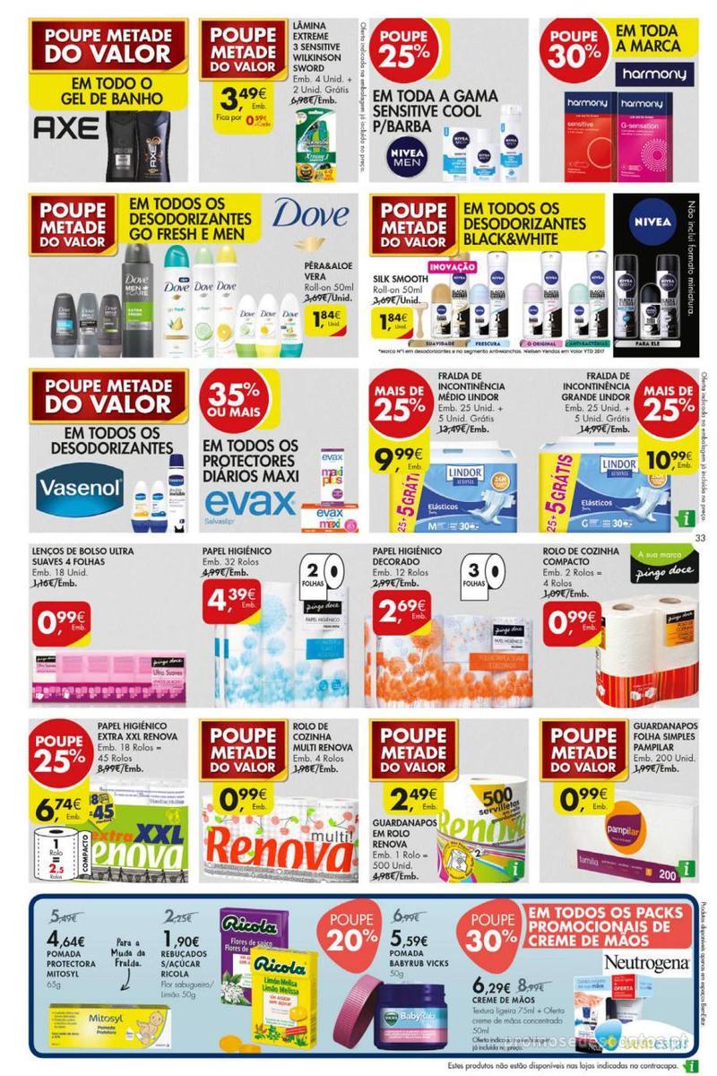 Folheto Pingo Doce Poupe esta semana - Mega/Hiper - 8 de Janeiro a 14 de Janeiro - página 33