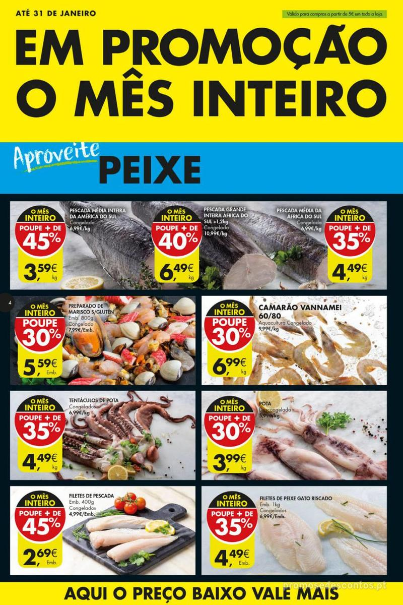 Folheto Pingo Doce Poupe esta semana - Mega/Hiper - 8 de Janeiro a 14 de Janeiro - página 4