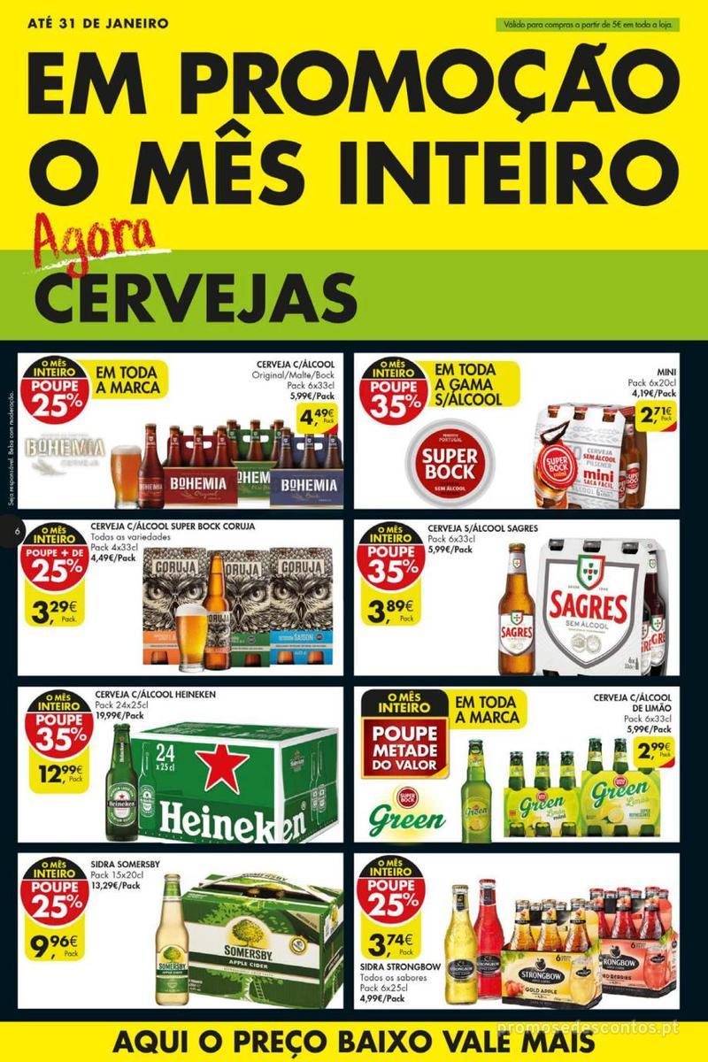 Folheto Pingo Doce Poupe esta semana - Mega/Hiper - 8 de Janeiro a 14 de Janeiro - página 6