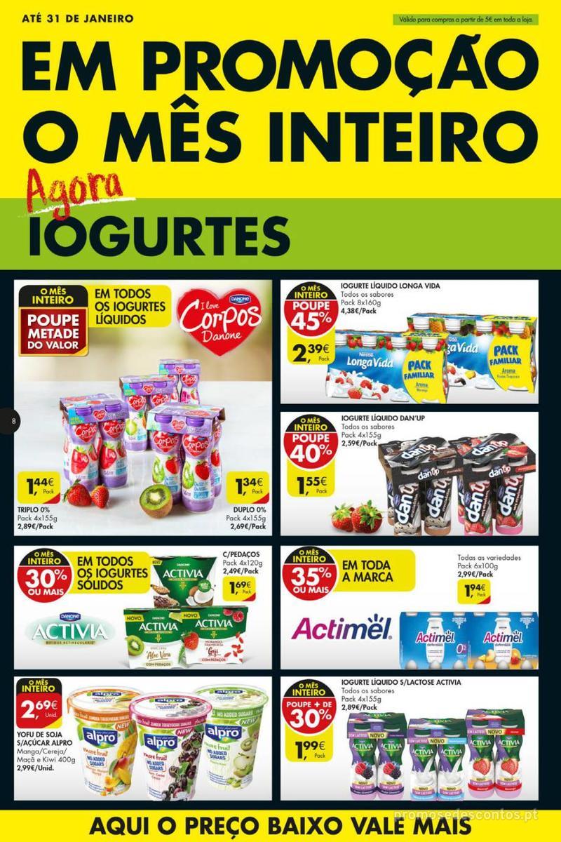 Folheto Pingo Doce Poupe esta semana - Mega/Hiper - 8 de Janeiro a 14 de Janeiro - página 8