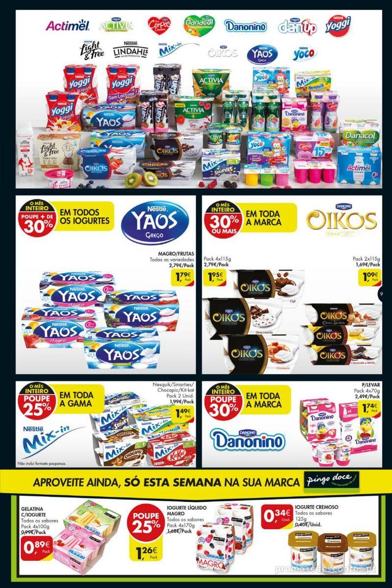 Folheto Pingo Doce Poupe esta semana - Mega/Hiper - 8 de Janeiro a 14 de Janeiro - página 9