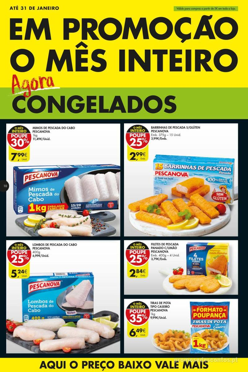 Folheto Pingo Doce Poupe esta semana - Super - 8 de Janeiro a 14 de Janeiro - página 10
