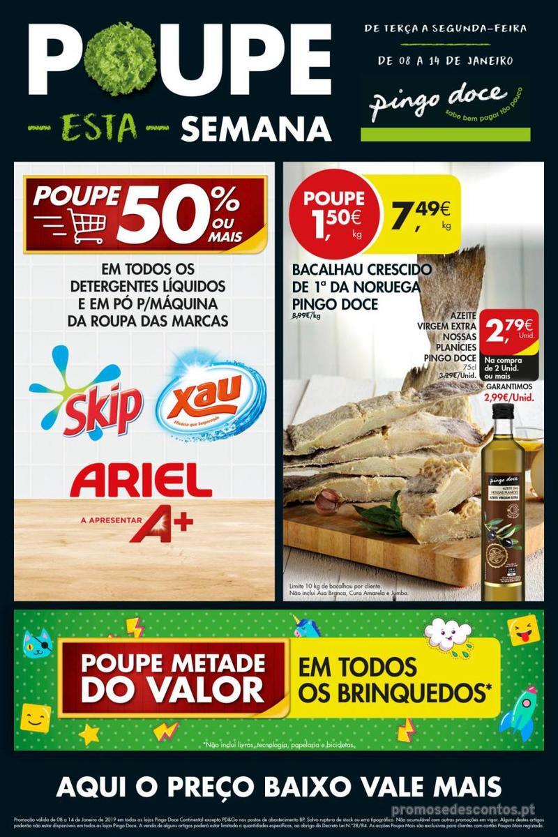 Folheto Pingo Doce Poupe esta semana - Super - 8 de Janeiro a 14 de Janeiro - página 13