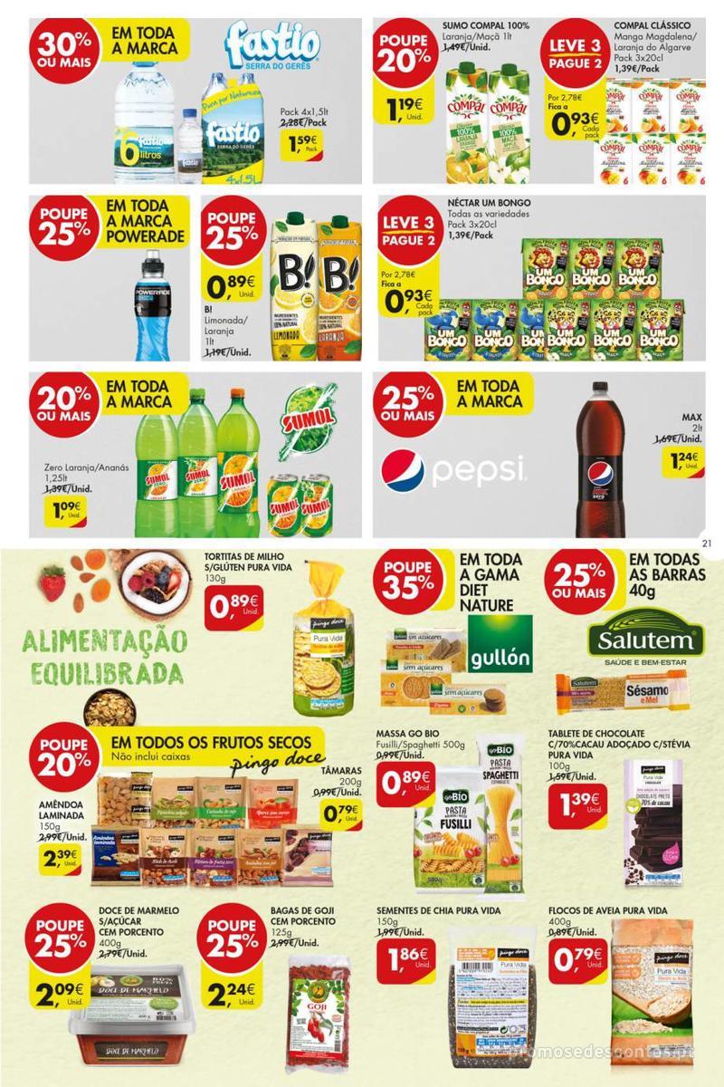 Folheto Pingo Doce Poupe esta semana - Super - 8 de Janeiro a 14 de Janeiro - página 21