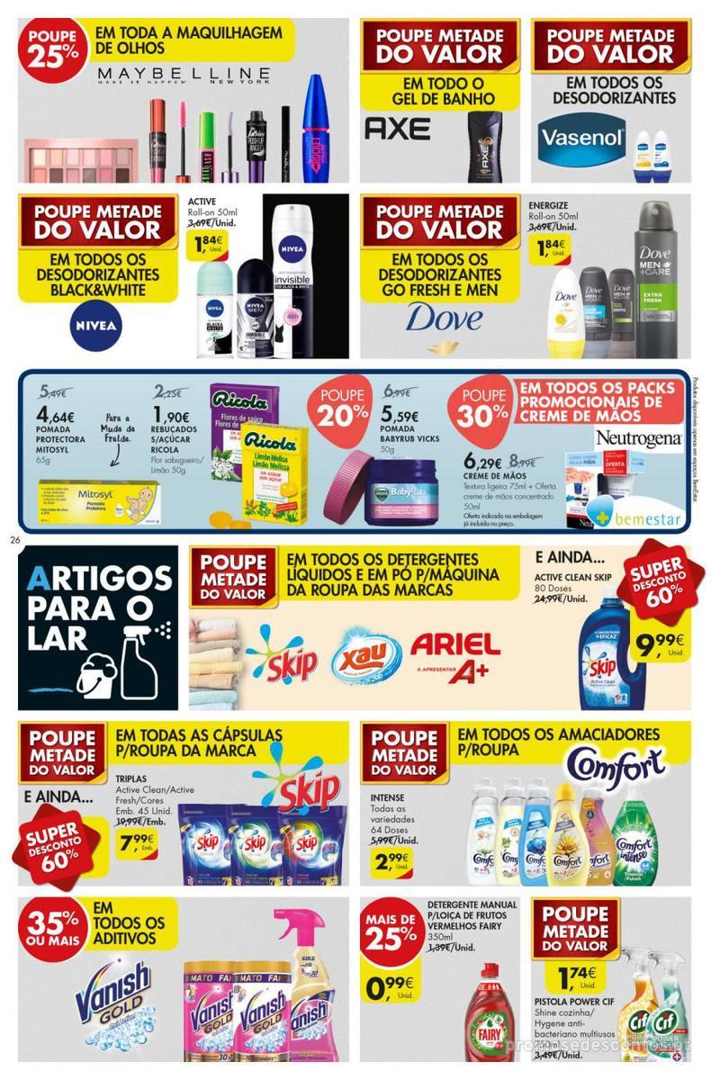 Folheto Pingo Doce Poupe esta semana - Super - 8 de Janeiro a 14 de Janeiro - página 26