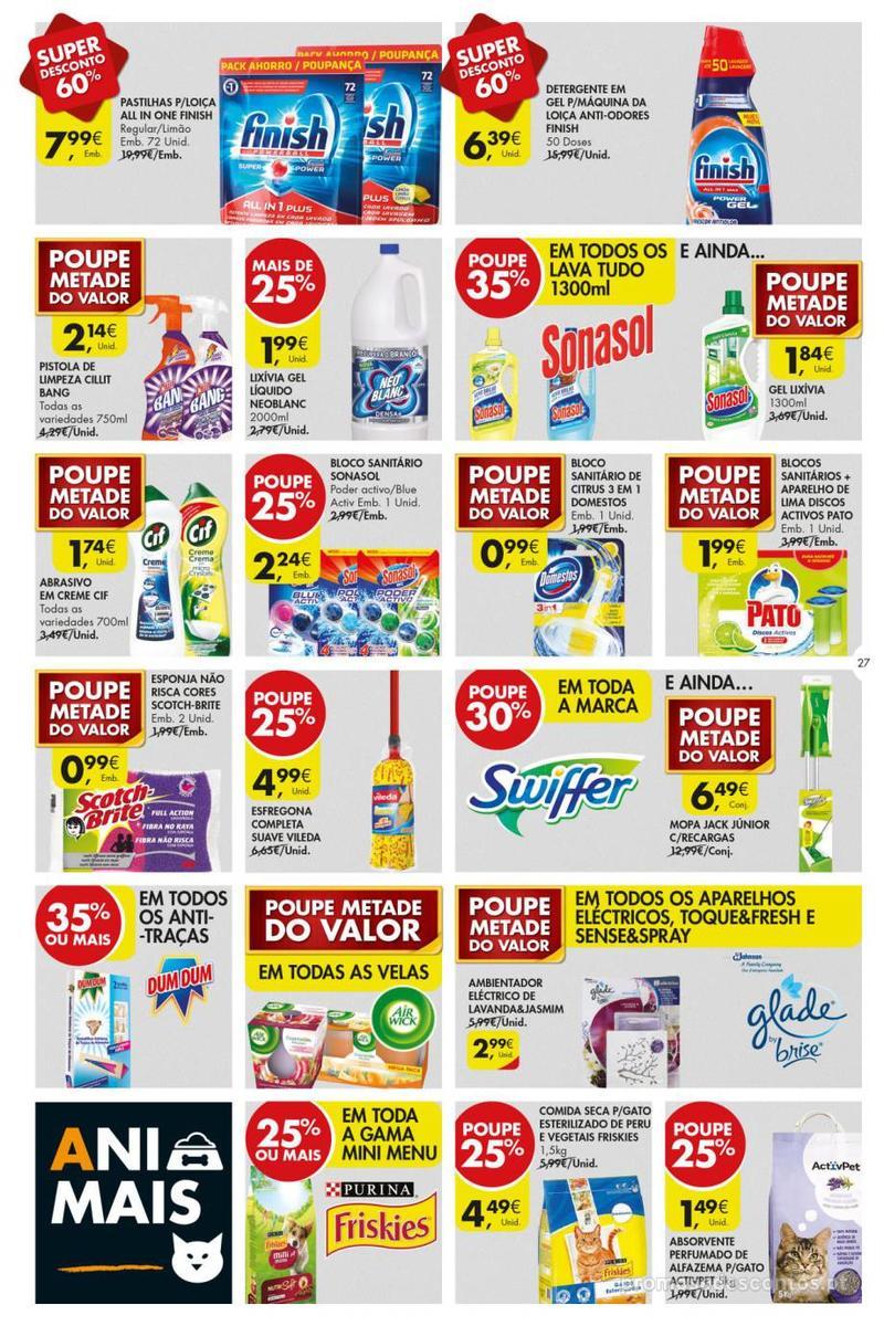 Folheto Pingo Doce Poupe esta semana - Super - 8 de Janeiro a 14 de Janeiro - página 27