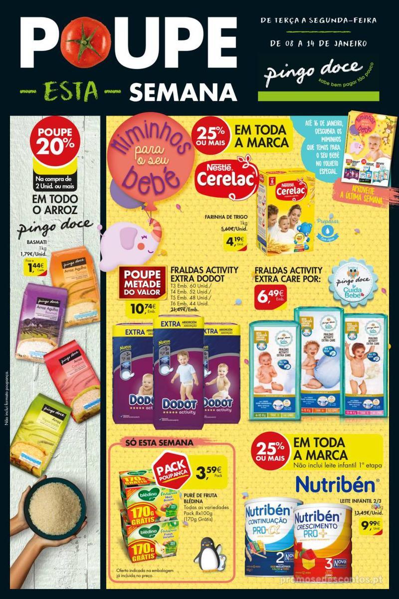 Folheto Pingo Doce Poupe esta semana - Super - 8 de Janeiro a 14 de Janeiro - página 28