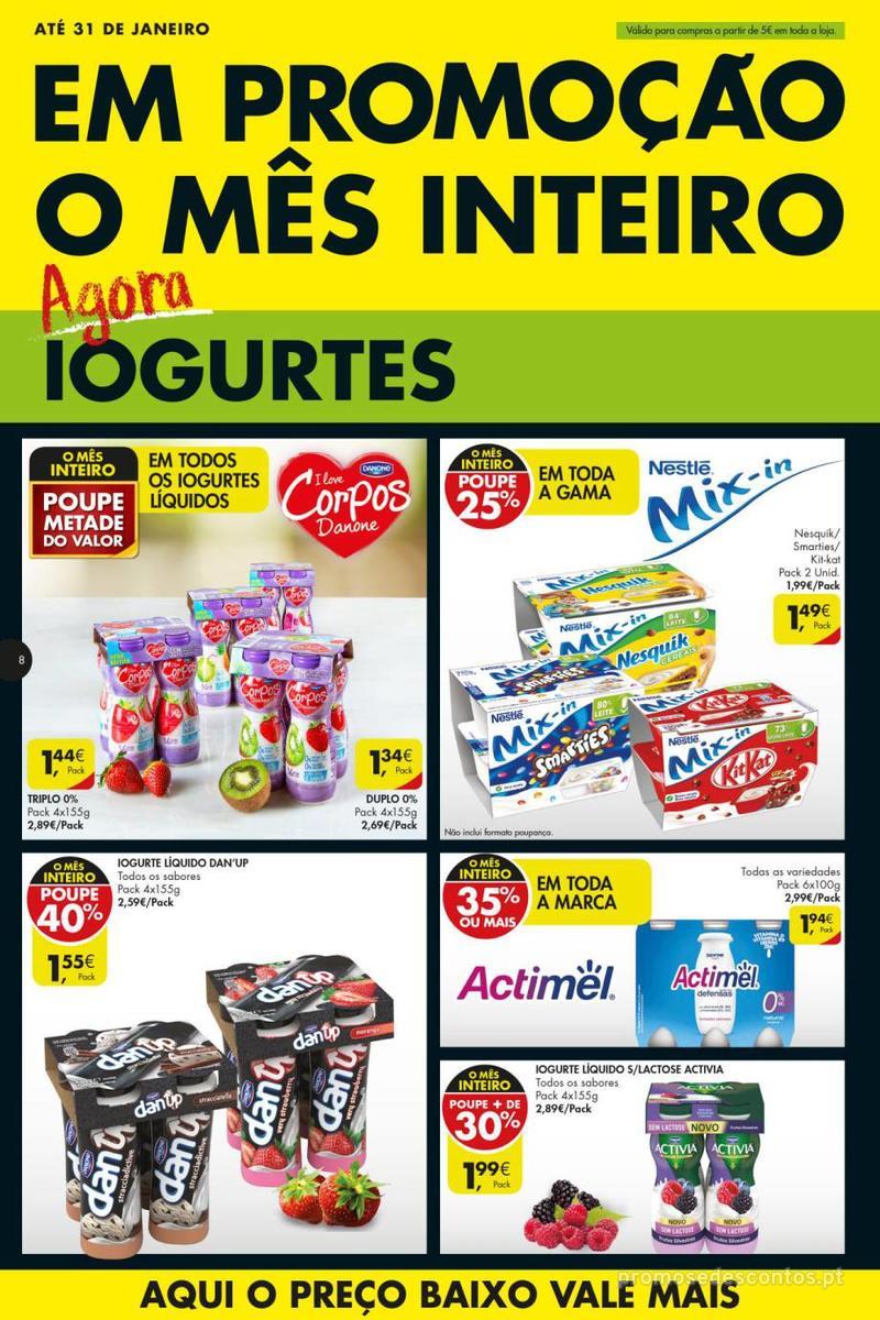 Folheto Pingo Doce Poupe esta semana - Super - 8 de Janeiro a 14 de Janeiro - página 8