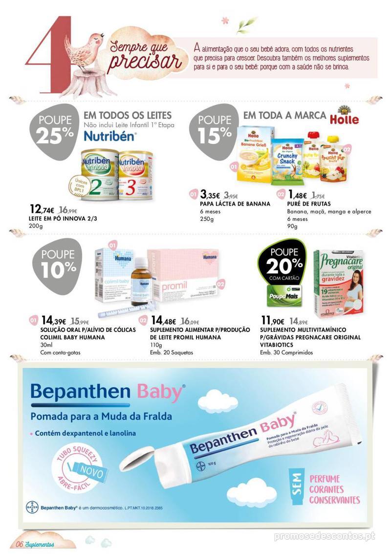 Folheto Pingo Doce Consigo desde o primeiro dia - Corners Bemestar - 8 de Janeiro a 4 de Fevereiro - página 6