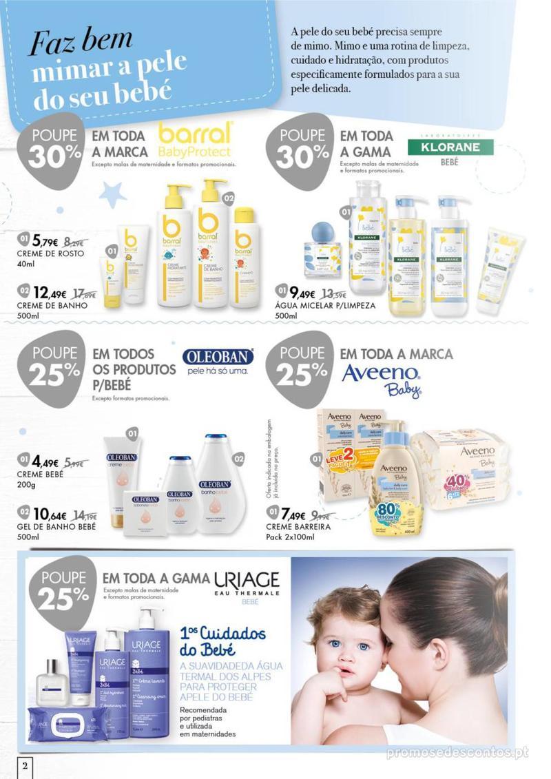 Folheto Pingo Doce Faz bem dar o melhor ao seu bebé. - 20 de Agosto a 16 de Setembro - página 2