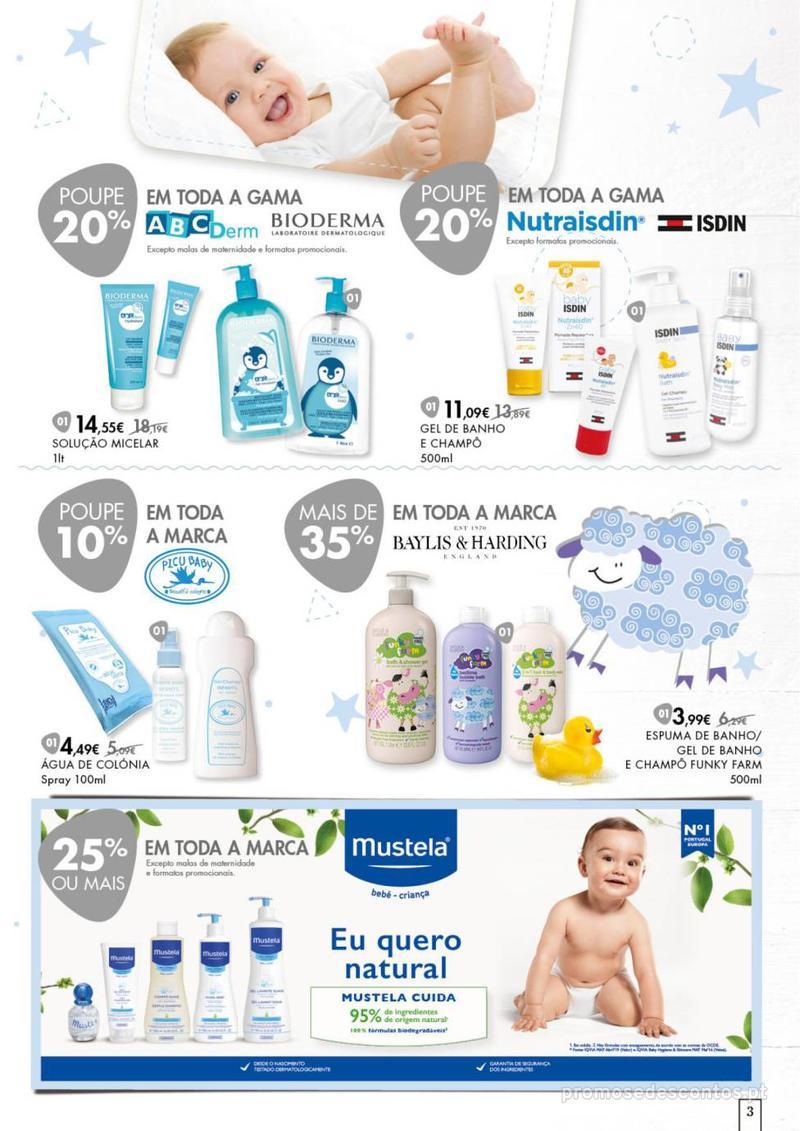 Folheto Pingo Doce Faz bem dar o melhor ao seu bebé. - 20 de Agosto a 16 de Setembro - página 3